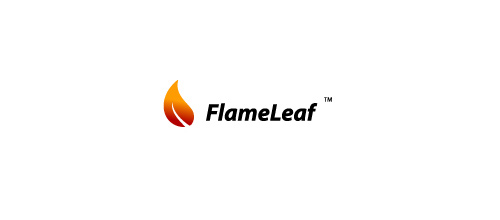 22-flame-fire-leaf-logo