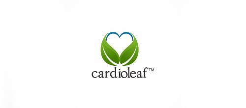 25-heart-cardio-leaf-logo
