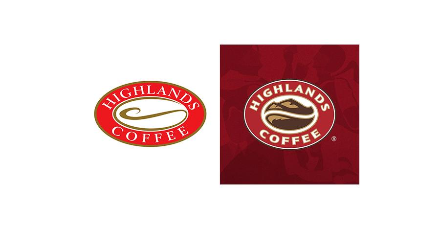 thiet ke logo-ca-phe highland coffee
