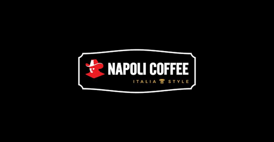thiet ke logo ca phe napoli coffee
