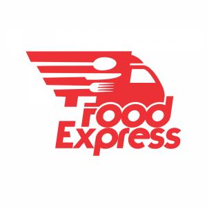 thiet-ke-logo-giao-do-an-Food-Express-600x600